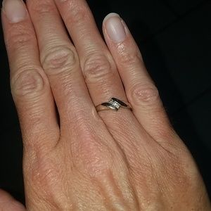 Size 5.5 silver ring
